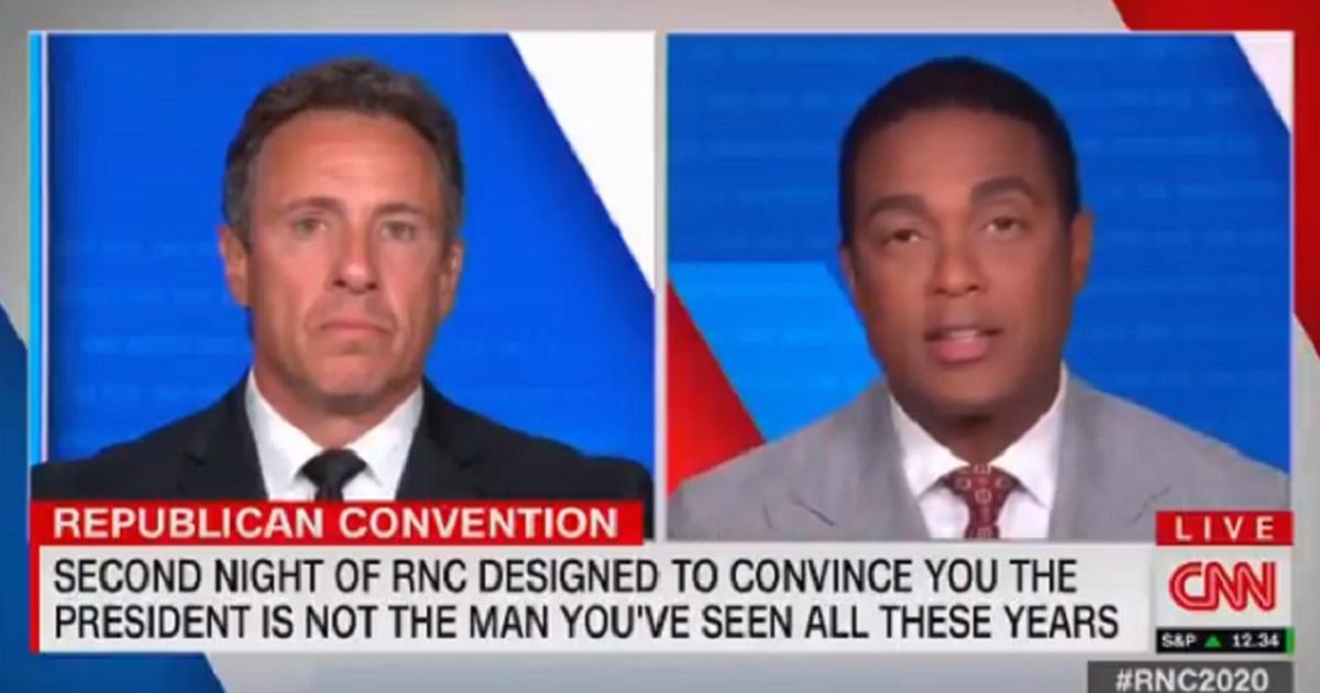 CNN's Chris Cuomo, left, and Don Lemon, right.
