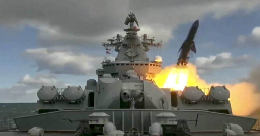 Russia Navy Drills