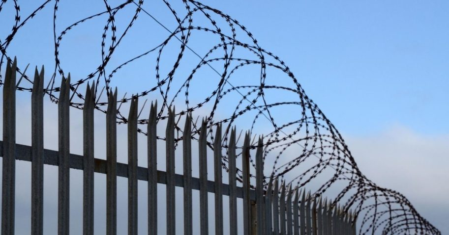 A fence is seen in the above stock image.