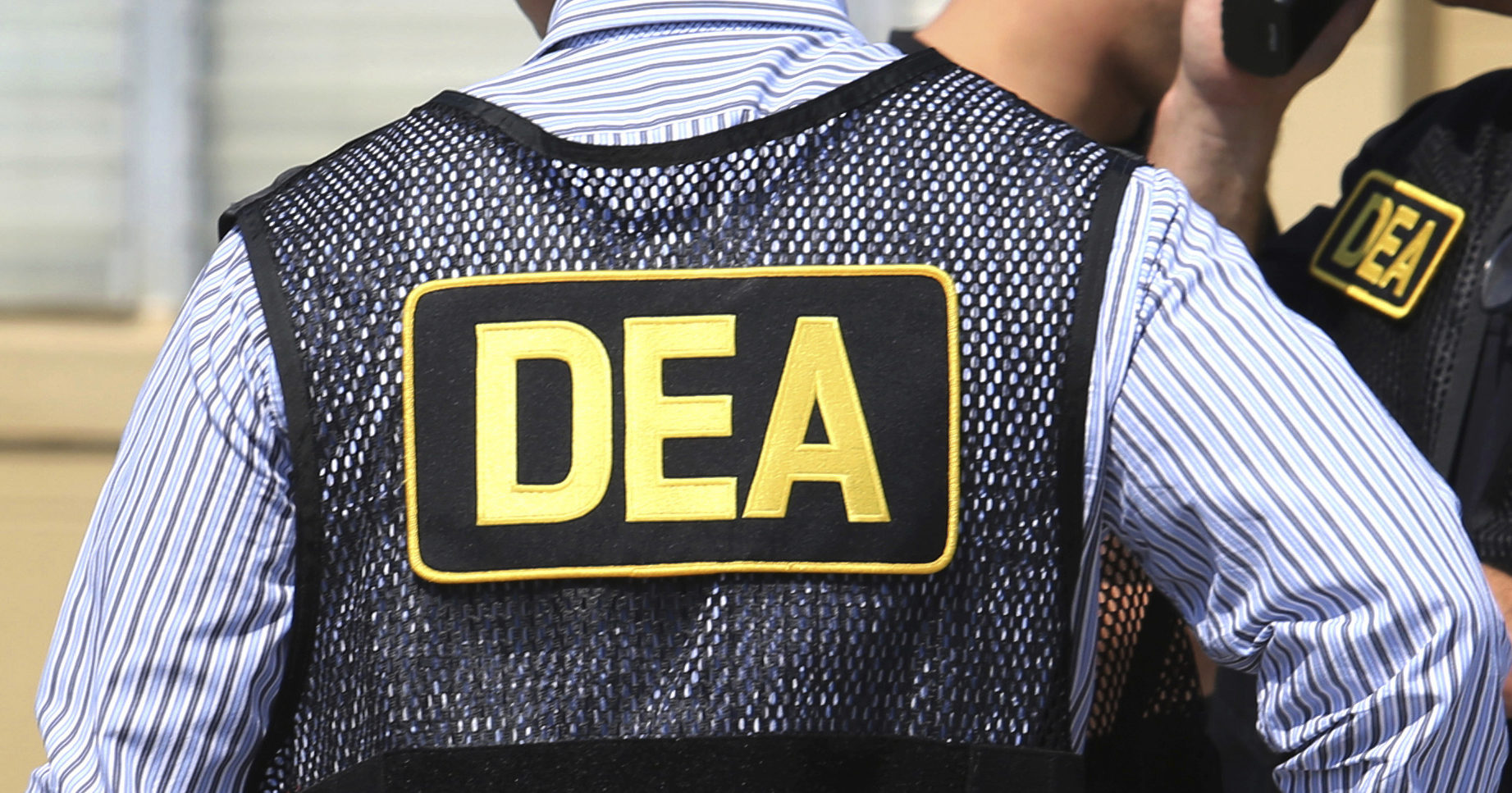 This June 13, 2016, file photo shows Drug Enforcement Administration agents in Florida.