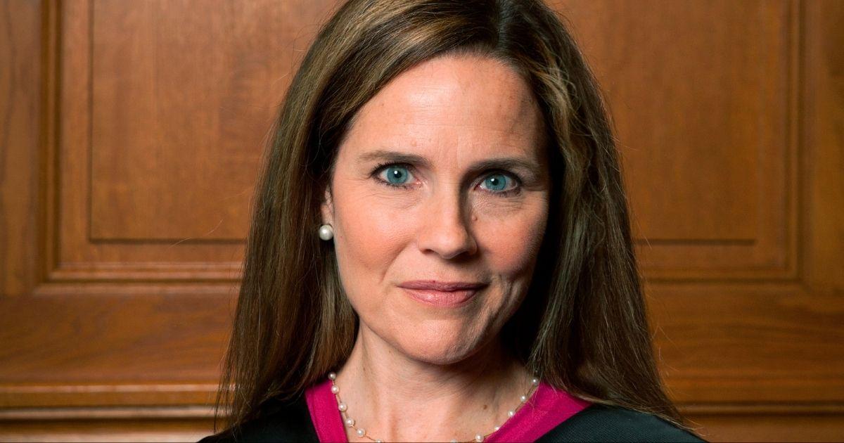 Judge Amy Coney Barrett in Milwaukee on Aug. 24, 2018.