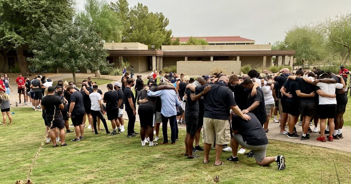 Students and faculty at Arizona Christian University recently lived out Dr. Martin Luther King, Jr.'s dream of different races working, praying and struggling together to live up to the nation's highest ideals.