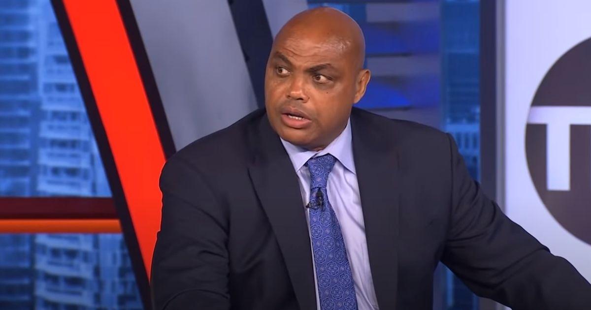 """Charles Barkley speaks on TNT's """"Inside the NBA."""""""
