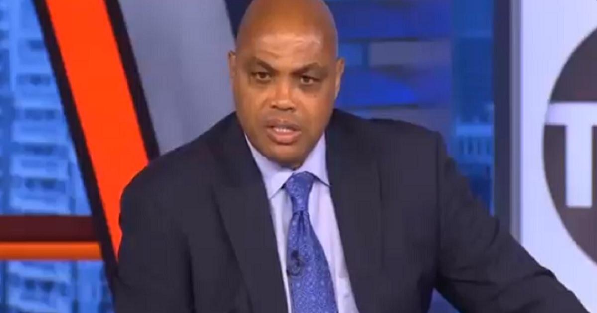 Charles Barkley on TNT.