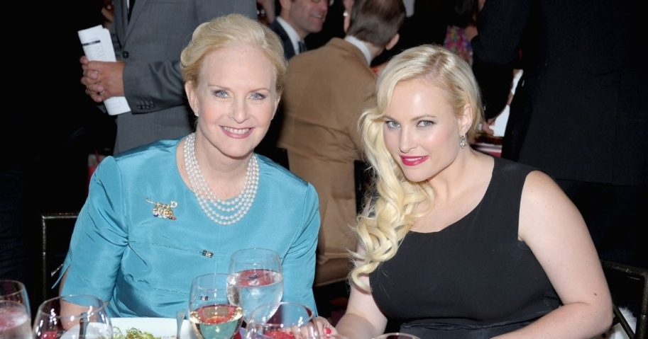 "Cindy McCain, left, and Meghan McCain attend the Trevor Project's 2013 ""TrevorLIVE"" Event Honoring Cindy McCain at Chelsea Piers on June 17, 2013, in New York City."