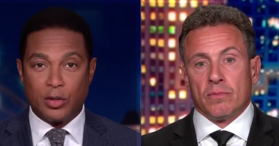 CNN hosts Don Lemon, left, and Chris Cuomo discuss abolishing the Electoral College on Sept. 21, 2020.