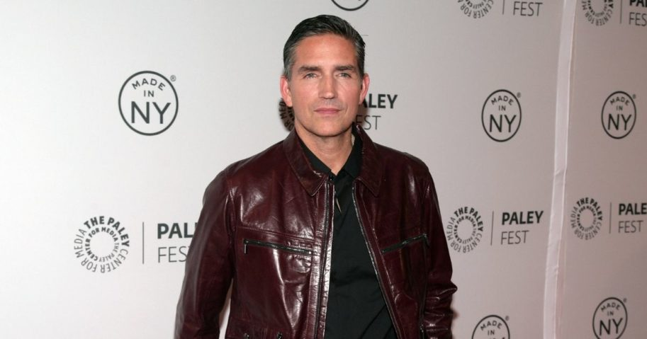 "is Oct. 3, 2013, file photo, actor Jim Caviezel attends a screening of ""Person of Interest"" in New York."