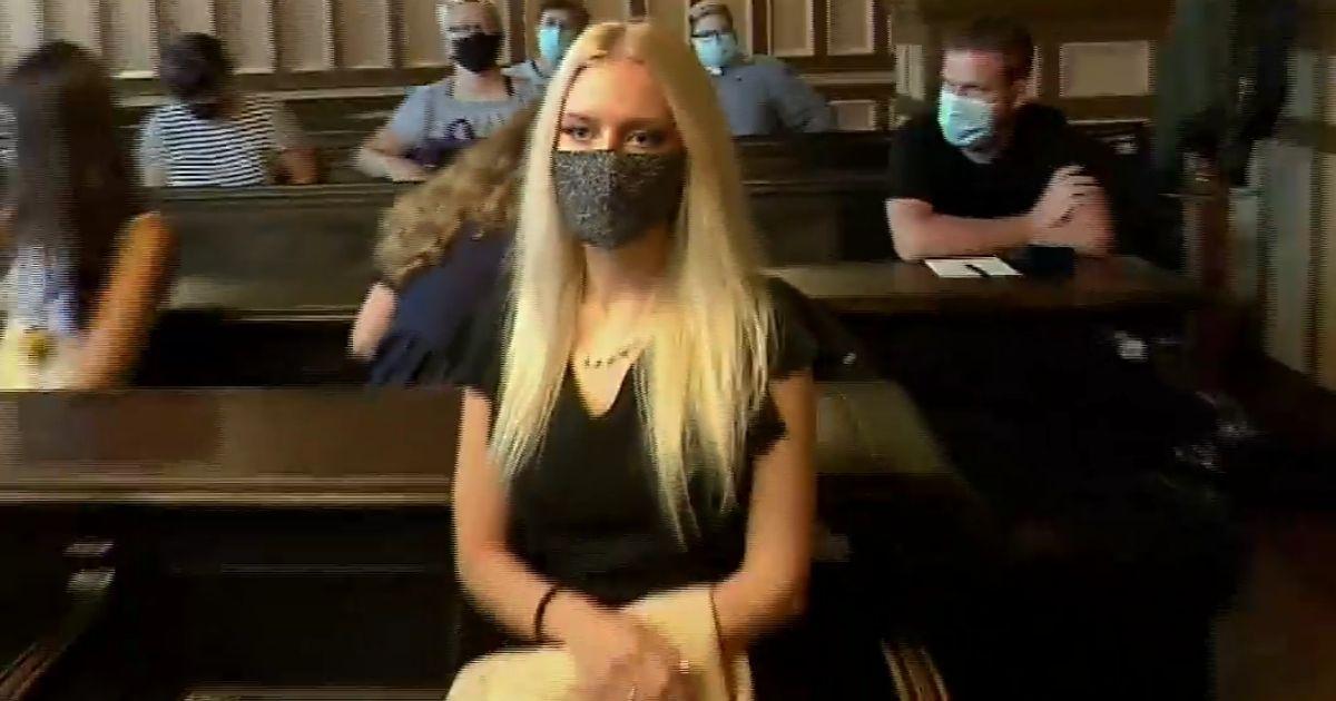 Julija Adlešič of Ljubljana, Slovenia, sawed off her own hand in an insurance fraud scheme.