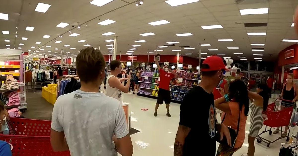 Maskless Target Shop