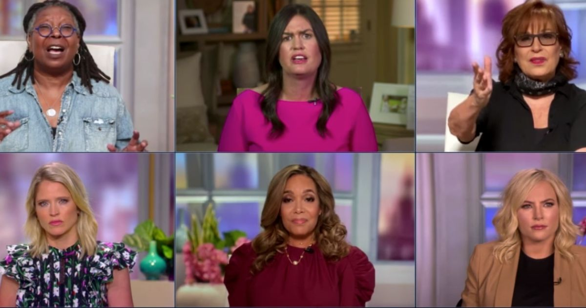 """The ABC daytime show """"The View"""" is a bastion of hypocrisy, former White House press secretary Sarah Sanders said Tuesday after a combative appearance on the show."""