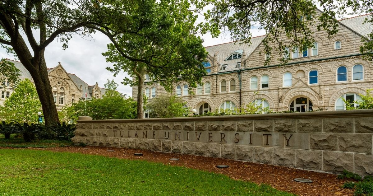 Tulane University in New Orleans is seen April 21, 2016.