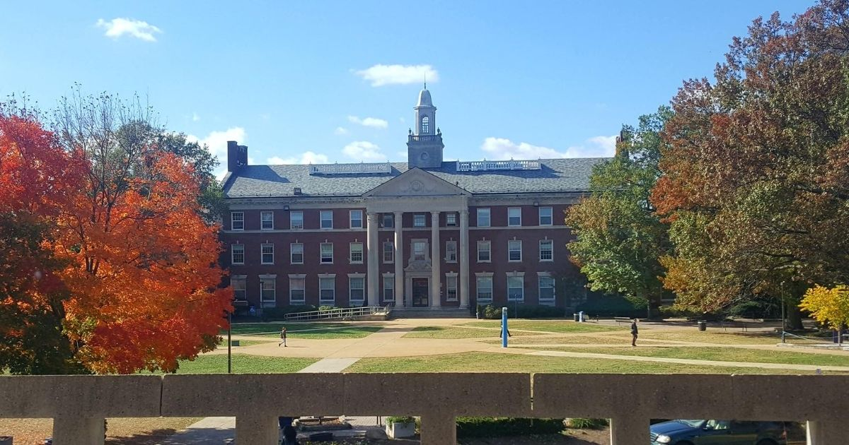 The campus of Howard University is pictured above.