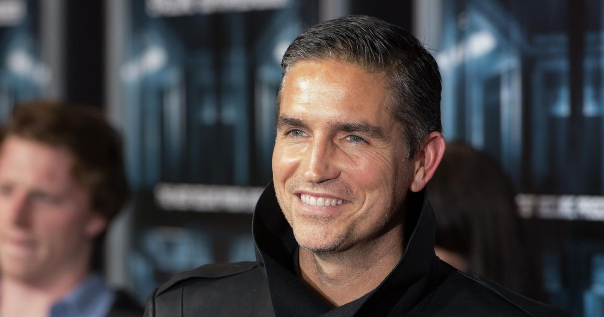 """Actor Jim Caviezel attends the """"Escape Plan"""" New York Premiere at Regal E-Walk on Oct. 15, 2013, in New York City."""