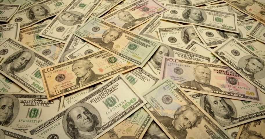 A pile of money is pictured in the stock image above.