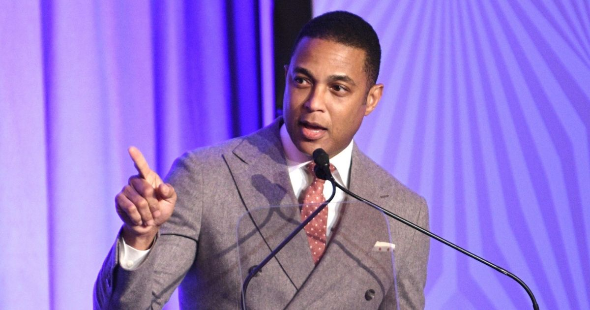 CNN anchor Don Lemon speaks onstage during the Housing Works' Groundbreaker Awards Dinner 2019 on April 24, 2019, in New York City.
