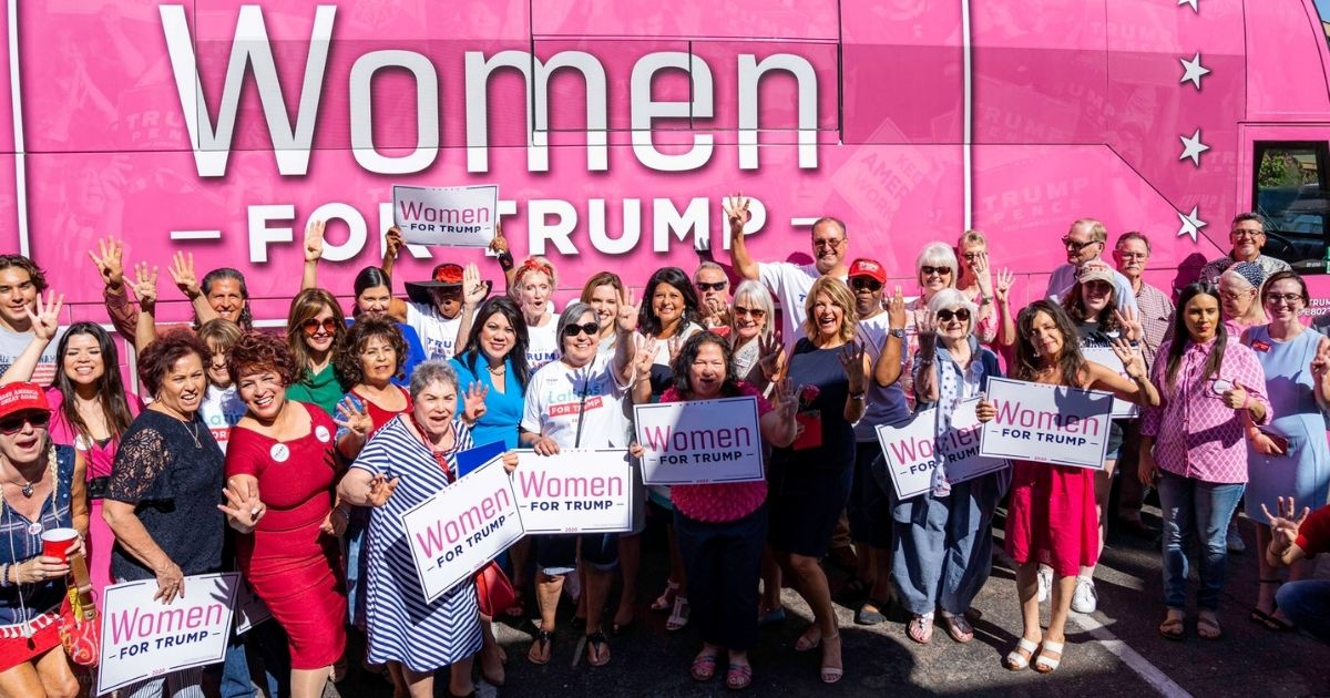 Trailing nationally and in many swing state polls, the Trump campaign is redoubling efforts to build more minority and woman voters into its electoral coalition.