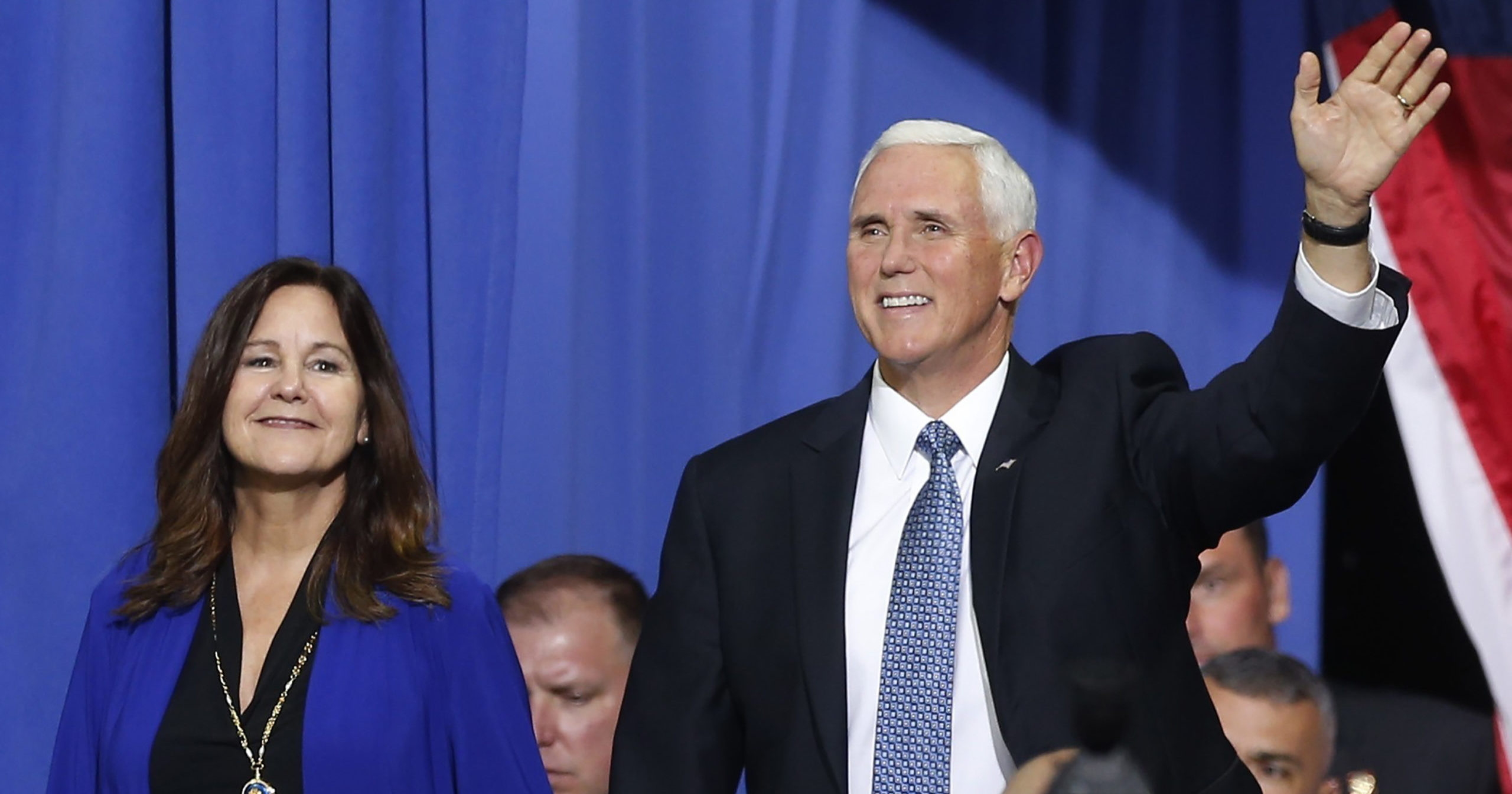 Vice President Mike Pence and Ivanka Trump are bringing President Donald Trump's law and order campaign message to Minneapolis on Sept. 24, 2020, showing support for law enforcement in the city where George Floyd's death sparked violent protests across the country.