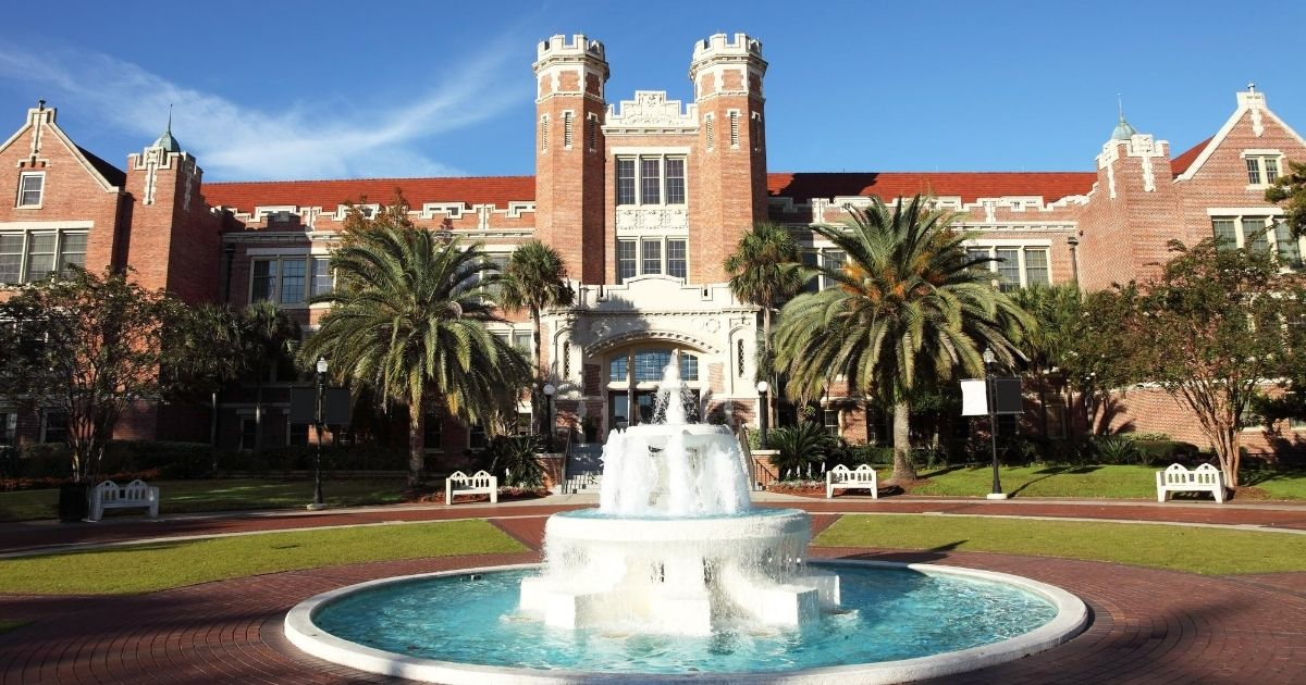 The campus of Florida State University is seen in this stock image.