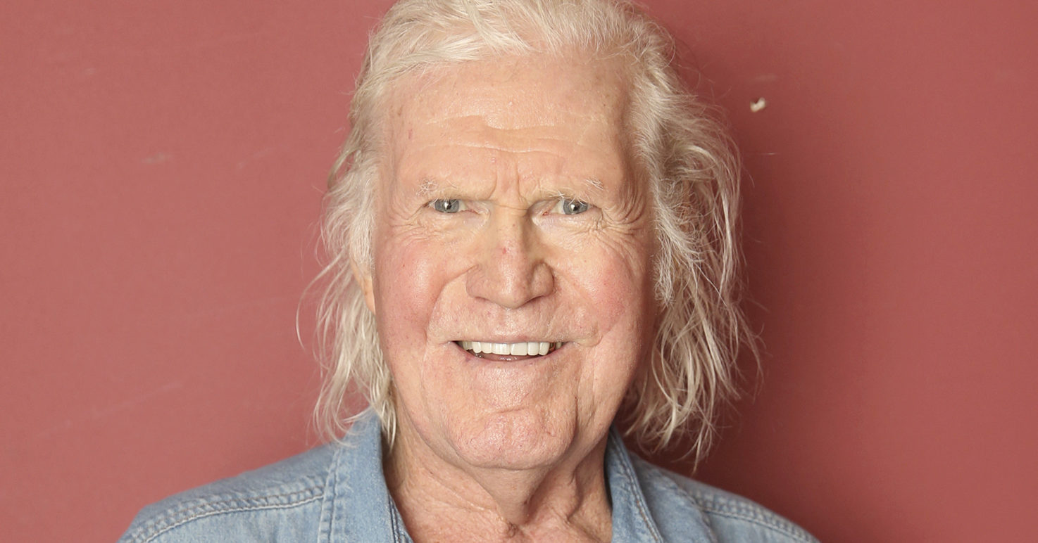 Billy Joe Shaver poses backstage following his concert at City Winery Nashville in Tennessee on April 1, 2017.