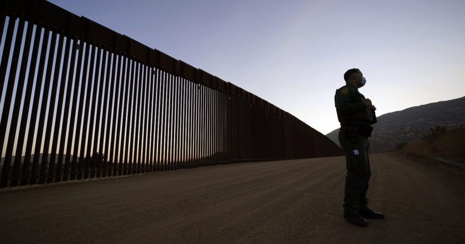 Top Trump administration officials visited Texas five days before Election Day to announce they have nearly completed 400 miles of U.S.-Mexico border wall.