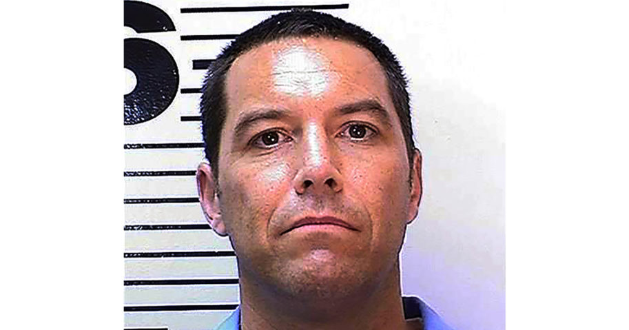 This May 11, 2018, photo from the California Department of Corrections and Rehabilitation shows Scott Peterson.