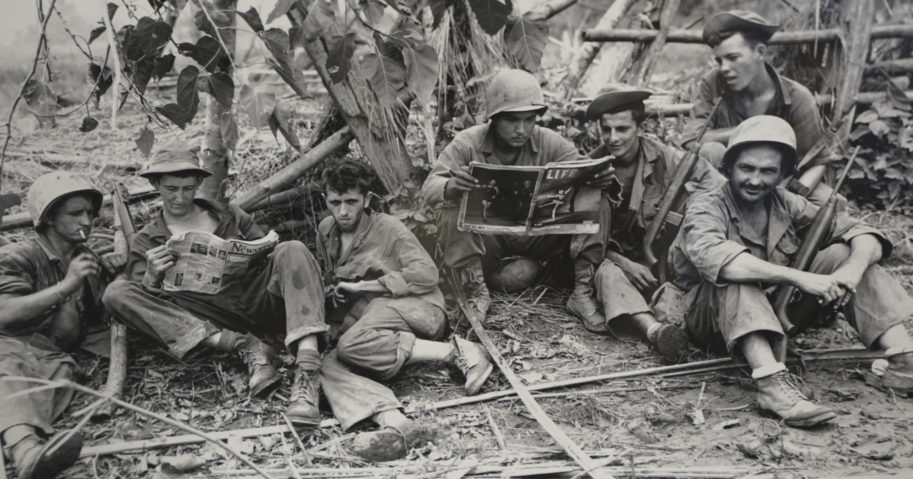 This photo, courtesy of the US Army Signal Corps, shows members of the famed WWII Army unit Merrill's Marauders on Aug. 2, 1944. The unit that spent months fighting behind enemy lines in Burma has been approved to receive the Congressional Gold Medal, Congress' highest honor.