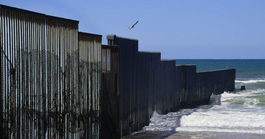 Border Wall Sea