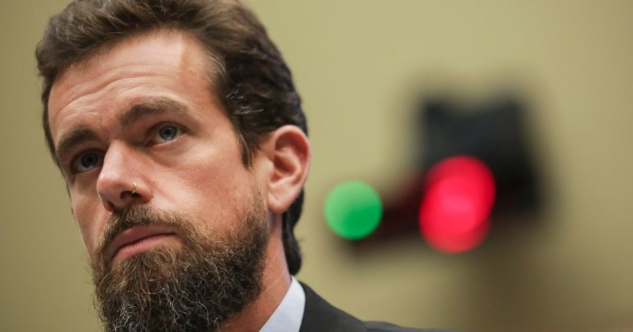 Twitter CEO Jack Dorsey testifies during a House Committee on Energy and Commerce hearing about Twitter's transparency and accountability on Sept. 5, 2018, in Washington, D.C.