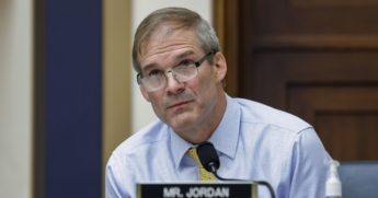 Republican Rep. Jim Jordan of Ohio speaks during a House Judiciary Subcommittee on Antitrust, Commercial and Administrative Law hearing on July 29, 2020, on Capitol Hill in Washington, D.C.