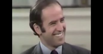 "In 1974, Joe Biden was quoted saying, ""Don't assume I'm not corrupt."""