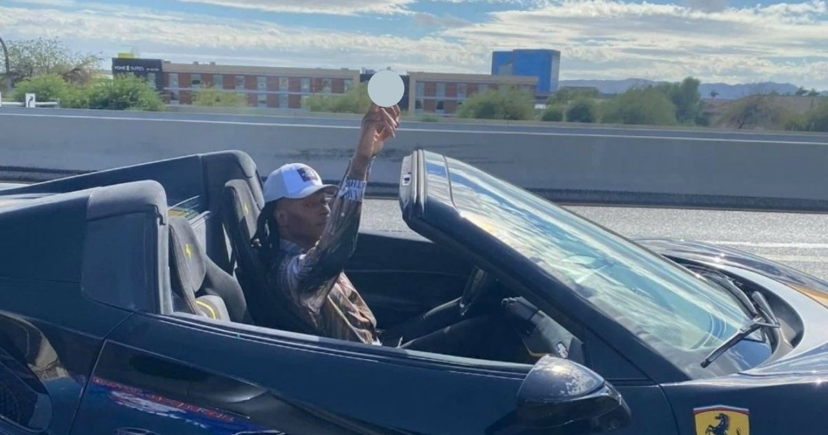Arizona Cardinals player DeAndre Hopkins, the NFL's leading wide receiver, was reportedly driving on the I-10 in Glendale, Arizona, on Sunday, when he flipped off Trump supporters.