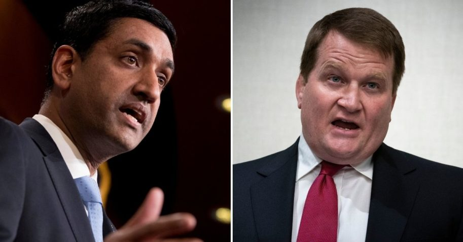 "Rep. Ro Khanna of California, left, told Tony Bobulinski, a former business associate of Hunter Biden, that he would defend him against smears he is a ""partisan hack"" in a private message obtained by Fox News reporter John Roberts."