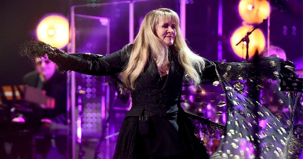 Inductee Stevie Nicks performs at the 2019 Rock & Roll Hall of Fame Induction Ceremony at Barclays Center on March 29, 2019, in New York City.