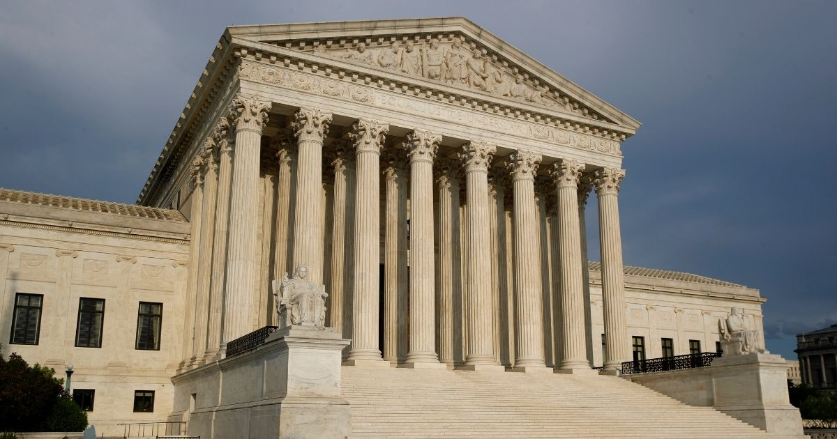 The Supreme Court building on Capitol Hill in Washington, D.C., is pictured above.