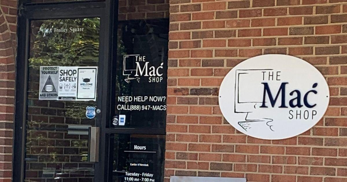 John Paul Mac Isaac owns The Mac Shop in Wilmington, Delaware.
