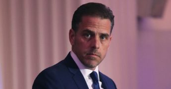In a 2016 file photo, Hunter Biden, then chairman of the World Food Program USA, speaks during an awards ceremony in Washington.