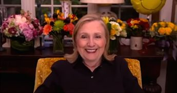 Former Secretary of State Hillary Clinton speaking about her role as an Electoral College elector in 2020.