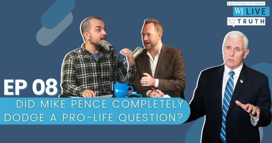 """On this episode of """"WJ Live,"""" Josh Manning, Joe Setyon and George Upper discuss whether Sen. Kamala Harris is less likable than Hillary Clinton, did Vice President Mike Pence completely dodge a pro-life question during the debate and why is the Commission on Presidential Debates changing the rules ... again?"""