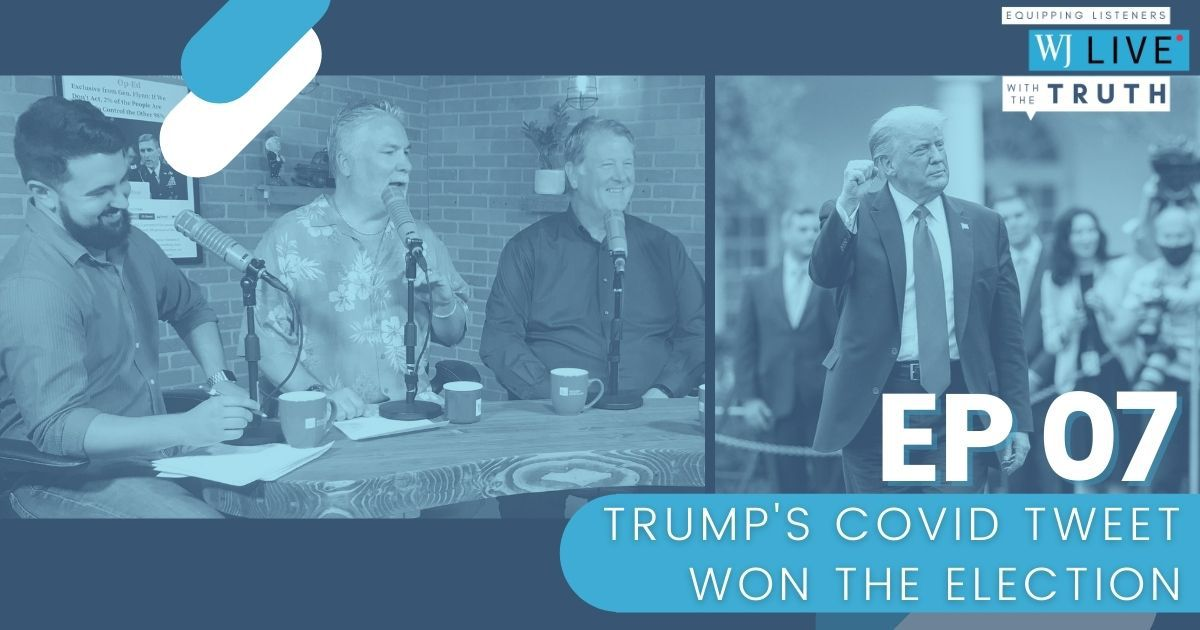 """On this episode of """"WJ Live,"""" Andrew J. Sciascia, Floyd Brown, Josh Manning and George Upper discuss the confirmation proceedings for Amy Coney Barrett, whether people should give up on the establishment media and how this election ultimately comes down to fear vs. hope."""