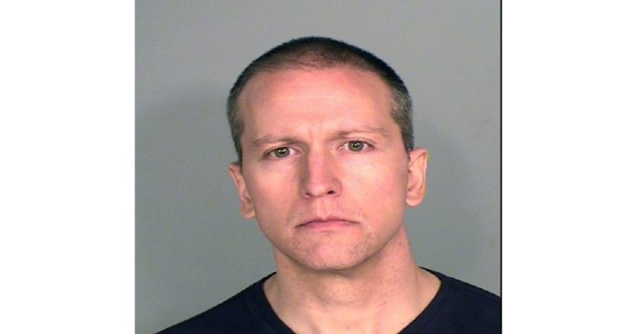 Former Minneapolis police officer Derek Chauvin poses for a mugshot after being charged in the death of George Floyd.
