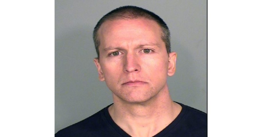 In this photo provided by the Ramsey County Sheriff's Office, former Minneapolis police officer Derek Chauvin poses for a mugshot after being charged in the death of George Floyd.