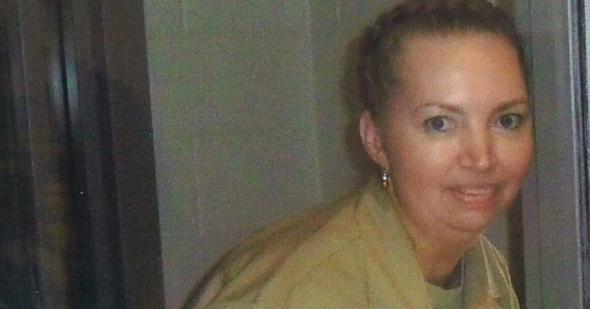 This undated image shows Lisa Montgomery, who was convicted of fatally strangling a pregnant woman, cutting her body open and kidnapping her baby.