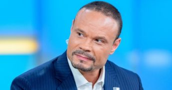 "Dan Bongino appears on ""Fox & Friends"" at Fox News Channel Studios in New York City on June 18, 2019."