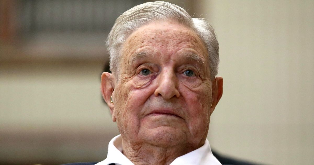George Soros, founder and chairman of the Open Society Foundations, is seen in Vienna, Austria, on June 21, 2019.