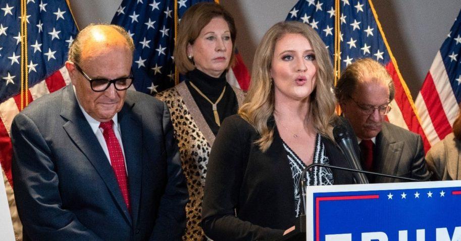 Members of President Donald Trump's legal team