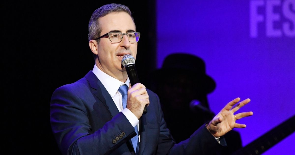 John Oliver performs onstage during the 13th annual Stand Up for Heroes to benefit the Bob Woodruff Foundation at The Hulu Theater at Madison Square Garden on Nov. 4, 2019 in New York City.