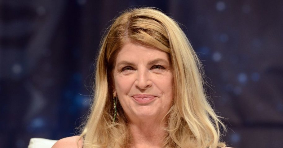Actress Kirstie Alley on day 3 of Creation Entertainment's Official Star Trek 50th Anniversary Convention held at The Rio Hotel & Casino on Aug. 5, 2016, in Las Vegas.