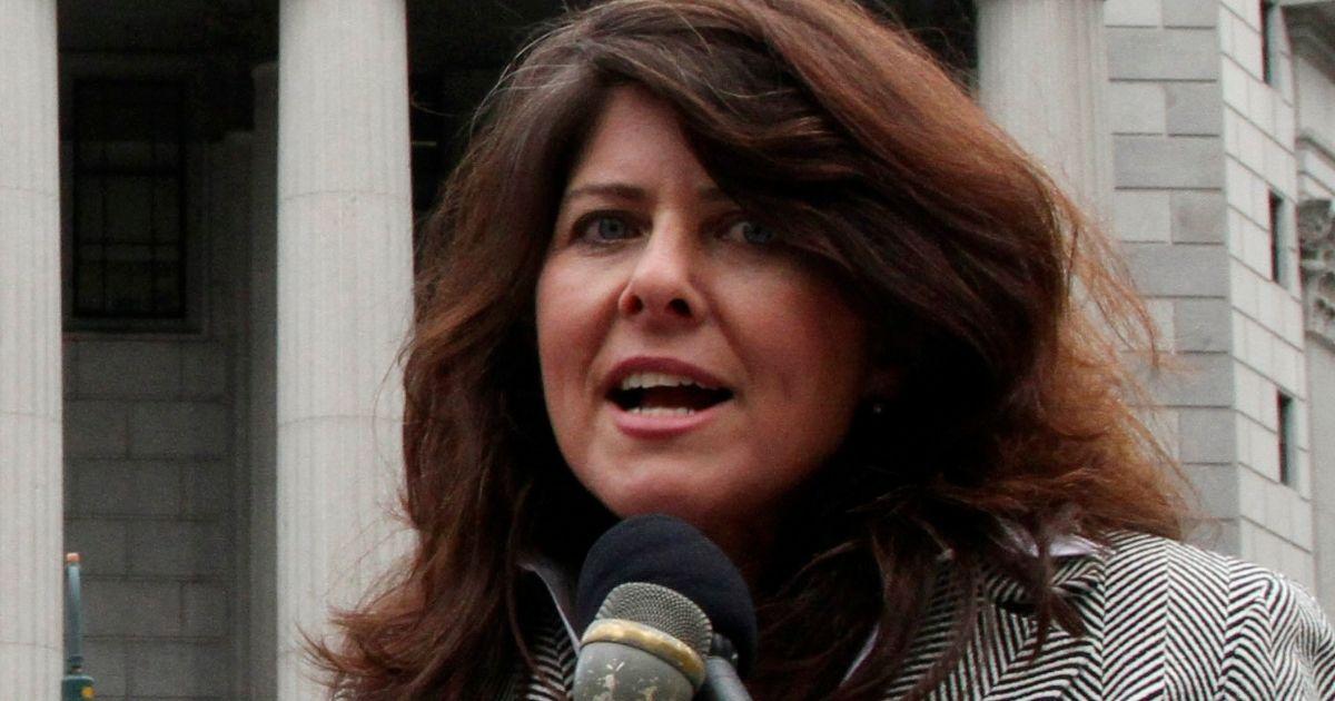 Feminist author Naomi Wolf speaks during a news conference in New York on March 29, 2012.