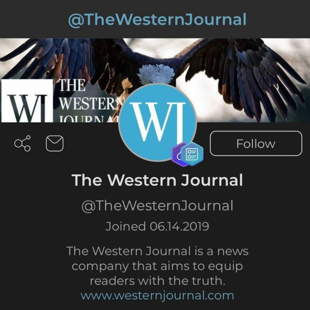 Follow The Western Journal on Parler