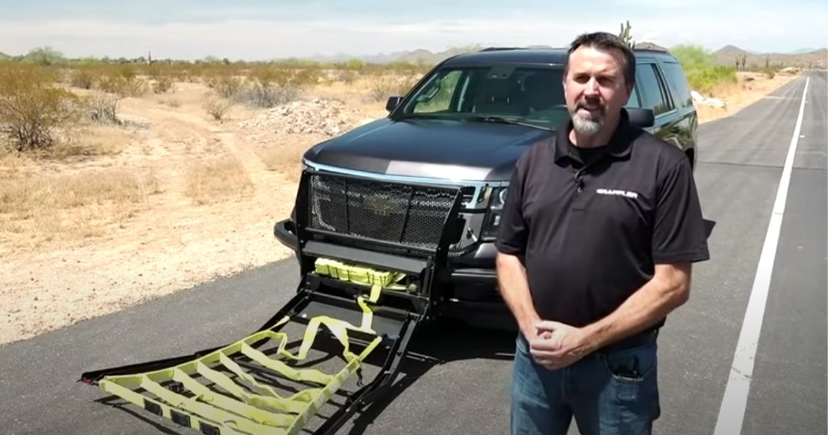 Grappler inventor Leonard Stock devised a takedown for high-speed vehicles while mitigating the possibility of driver, passenger, police and pedestrian injuries.
